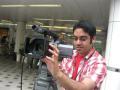 TVカメラマンでもあるエンジェル先生